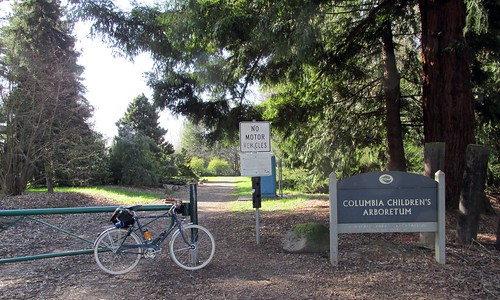 Entrance to Columbia Children's Arboretum