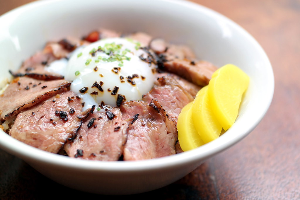 Tanuki Raw's Truffle Yakiniku Don