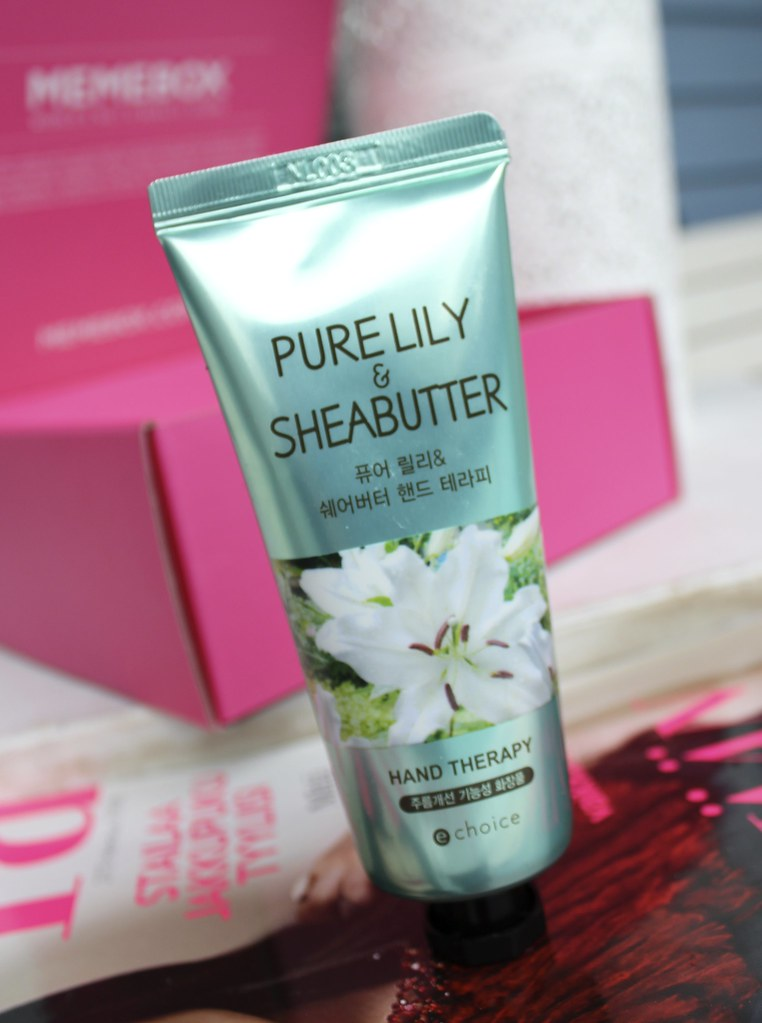 Echoice Floral & Shea Butter Hand Therapy in Pure Lily