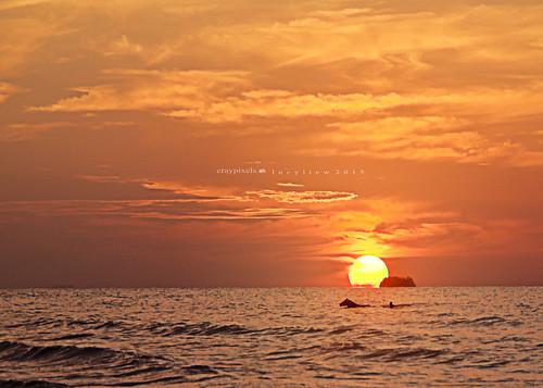 Evening Swim