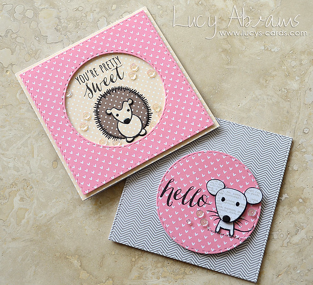 Cute Animals Cards by Lucy Abrams