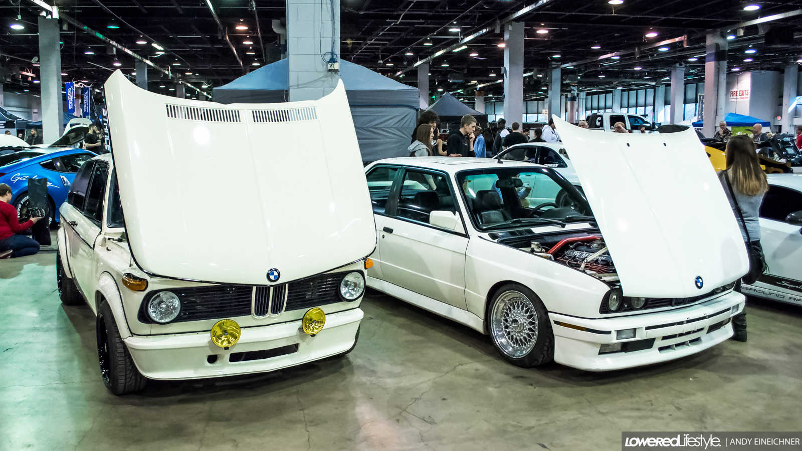 BMW 2002 and E30 M3