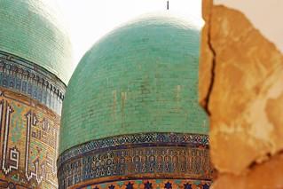 Shah-i Zinde complex.