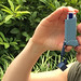 Small photo of Adult Using an Asthma Inhaler
