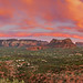 Sunset Over Sedona by tony baldasaro photography