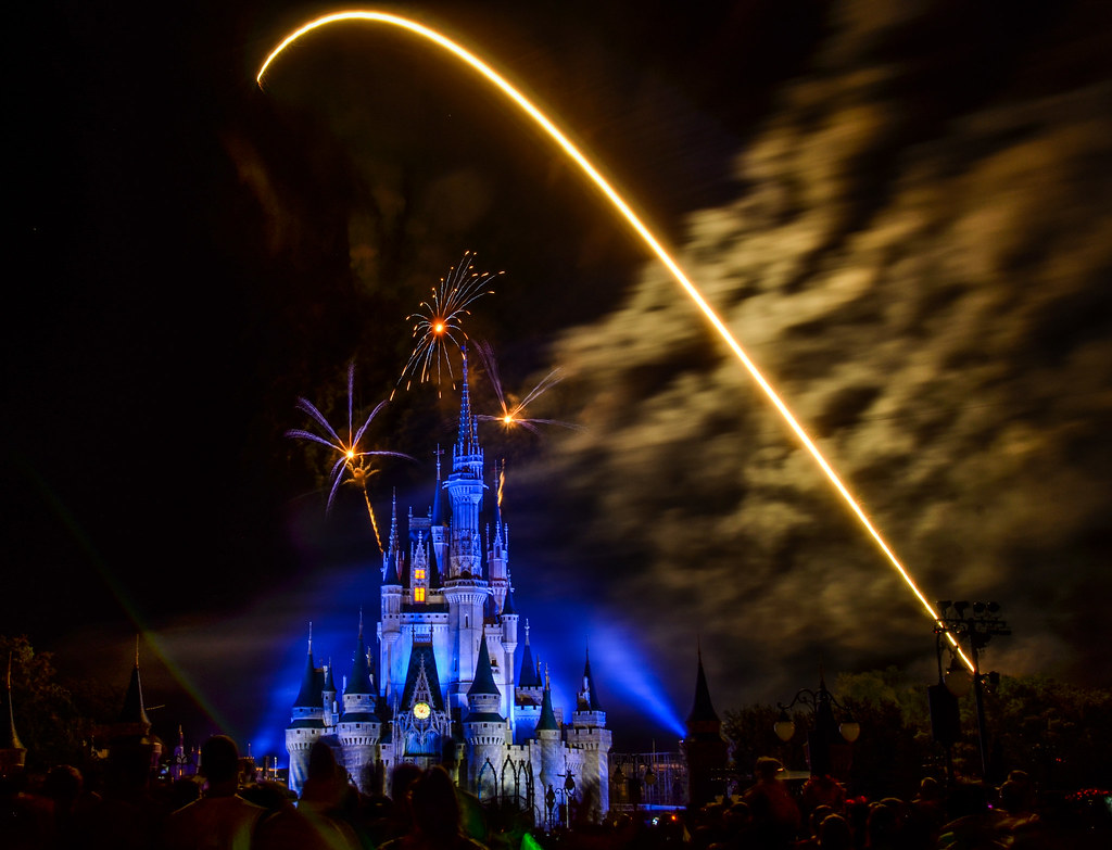 Wishes streak stars