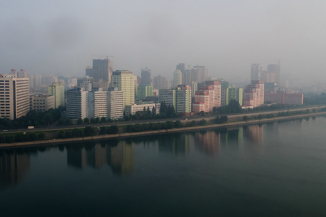 Pyongyang in the Mist
