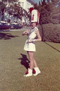 Drum majorette Beverly White - Tallahassee