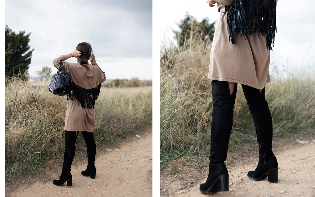 05_fringed_dress_and_long_boots_fashion_blogger_barcelona_theguestgirl