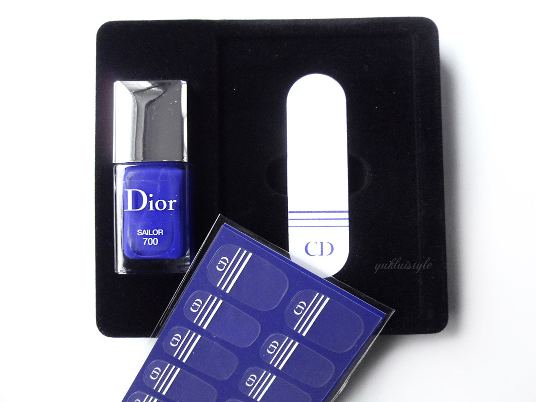Dior Manucure Transat - 700 Sailor review and swatch