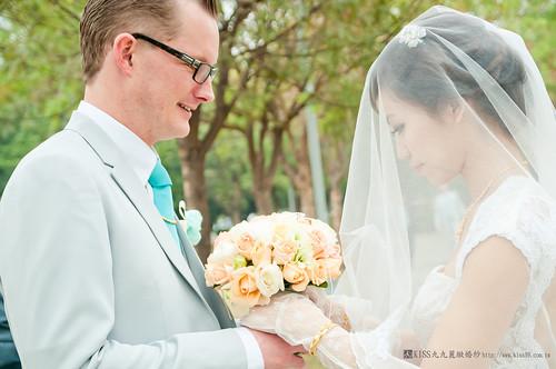 高雄KISS九九麗緻婚紗-戶外婚禮:莫唐諾_楊雅筑