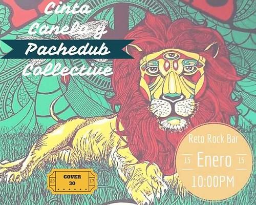 Pachedub Collective y Cinta Canela @RetoRock
