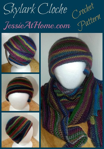 Skylark Cloche Free Crochet Pattern by Jessie At Home