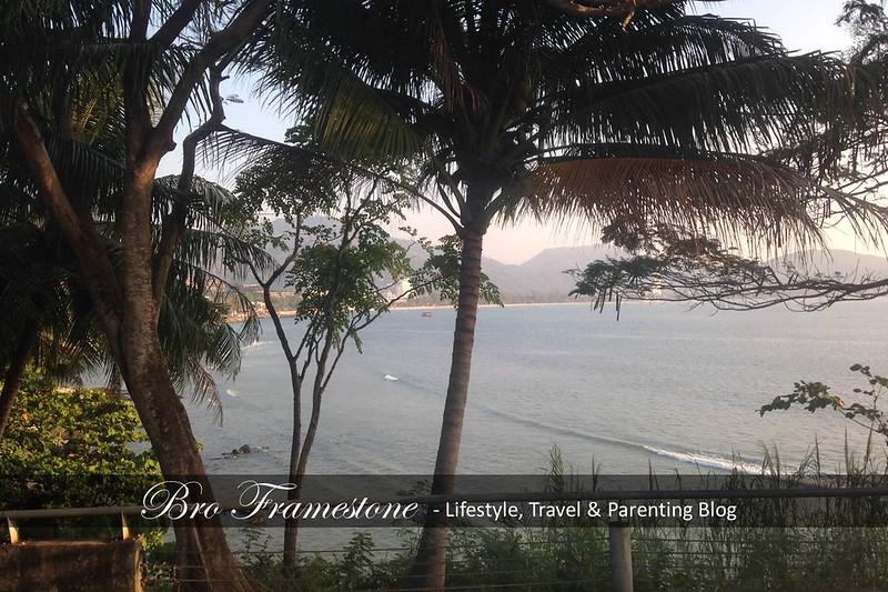 Matahari Terbenam Di Patong Beach Phuket Thailand