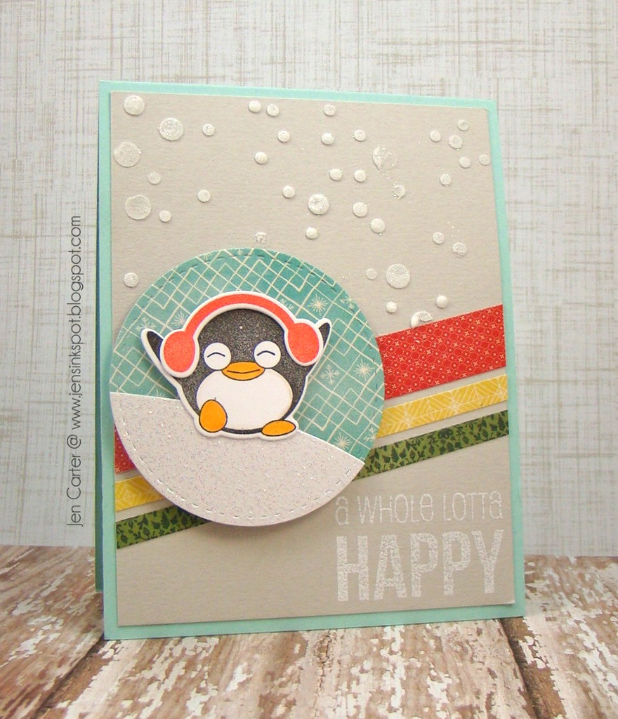 Jen Carter Whimsy Penguin Fun Happy Everything