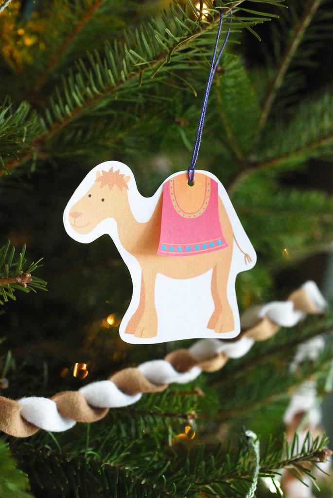 Printable Camel Gift Tags