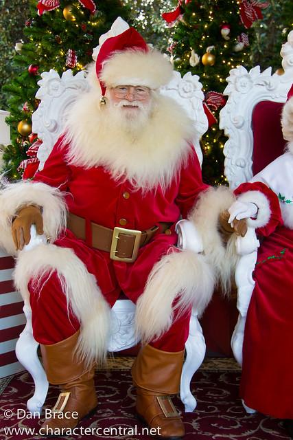 Meeting Santa and Mrs Claus
