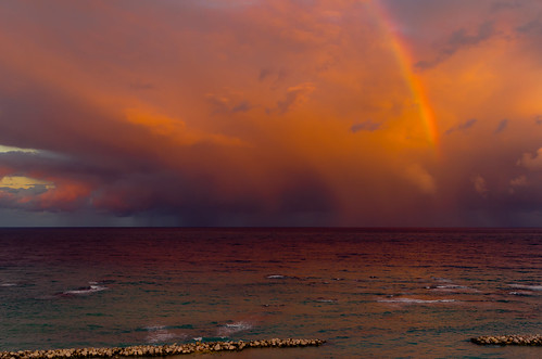 sea seascape storm rainbow pentax freeport montegobay da21mmlimited pentaxk5