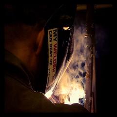 My welder can beat up your welder