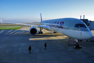 Airbus A350 XWB - Qatar Airways