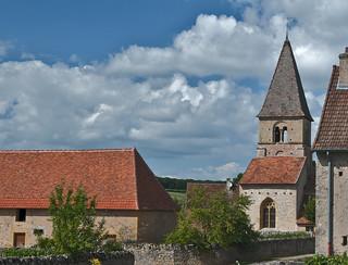 Changy Tourny, Franrkrijk, Bourgondië, Regio Charrollais, La Vieille Chappelle