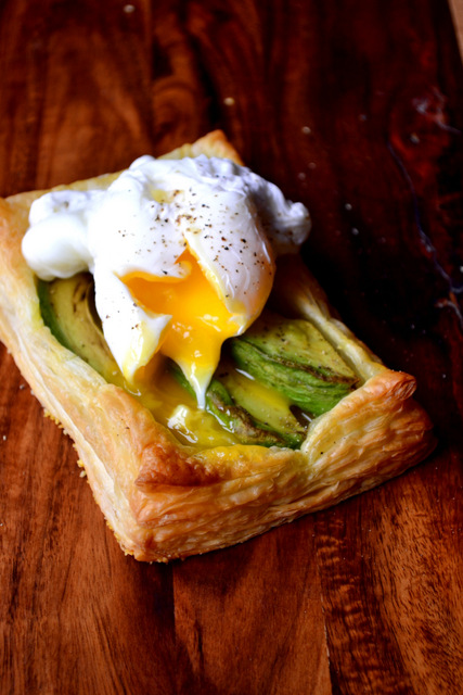 Avocado Puff Tart