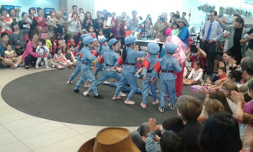 Young dancers - Chinese Lunar New Year festivities at Upper Riccarton Library