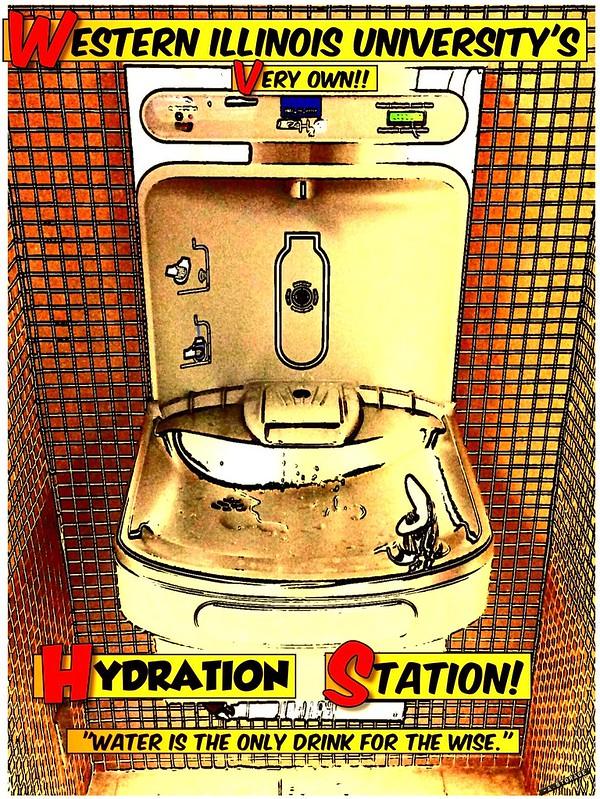 Hydration Station poster