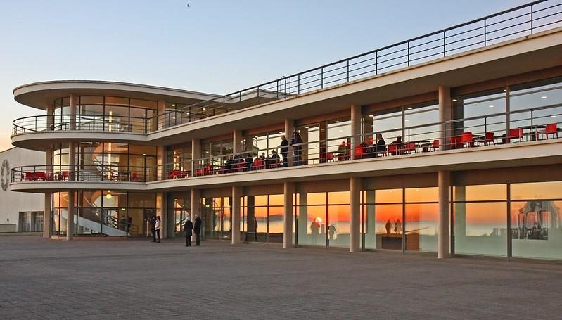 De La Warr Pavilion Sunset