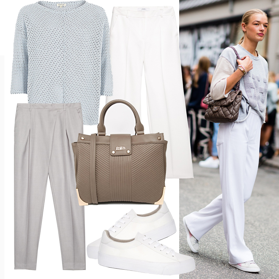 how-to-wear-pastel-wide-pants-outfit-street-style