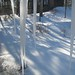 Pleasantville, 7-9' icicle out front by David G. Hartwell