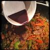 #CucinaDelloZio - #Homemade #TexasStyle #Chili - add drained marinade