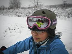 Snowy 'Hood Ride