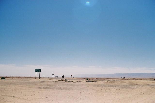 Lost Hills, California. James Deans Last Stop
