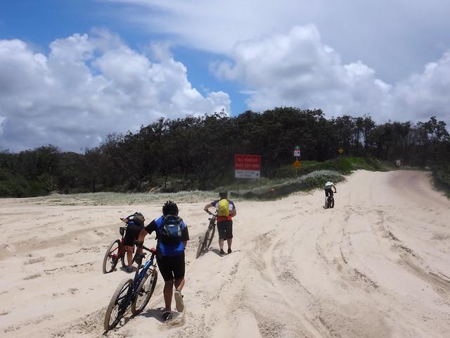 Trudging through Sand