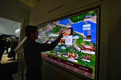 Panasonic @CES 2015 Pantalla LED 4K Multitouch Multivideo 01