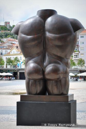 32. Fernando Botero. Male Torso, 1992