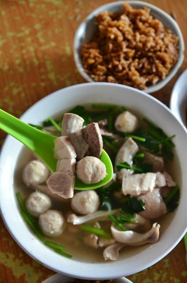 Mixed Pork Innard Soup