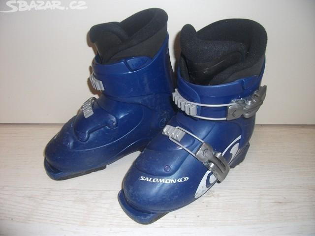 Dětské lyžařské boty(přeskáče) zn. Salomon - Bazar - SNOW.CZ 659b8b0209