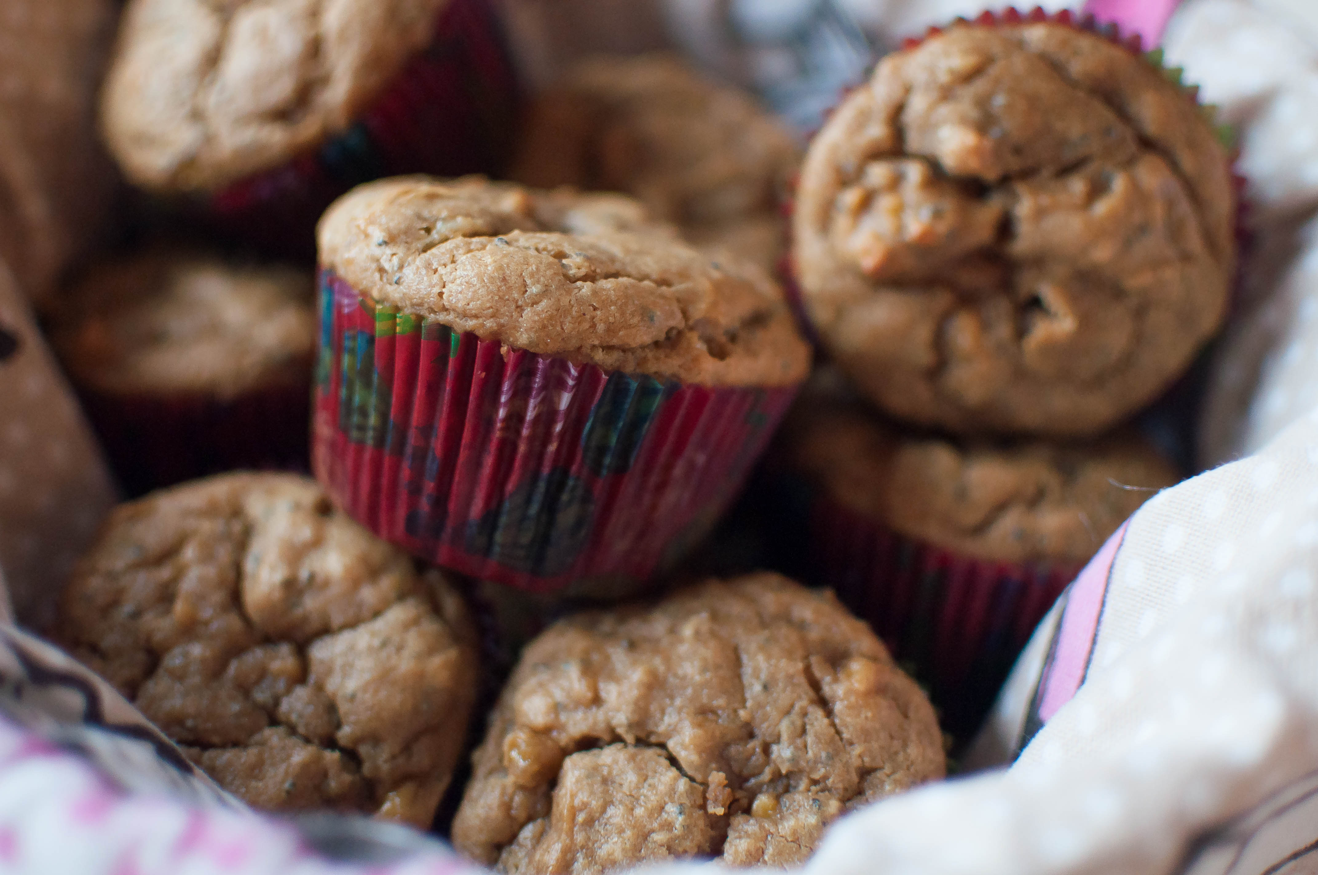 Peanut Butter Banana Muffins {gluten and dairy free) 5