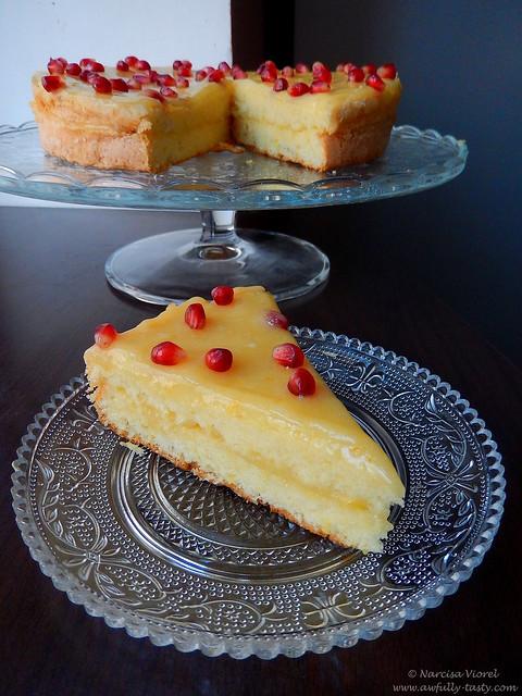 prajitura cu lemon curd