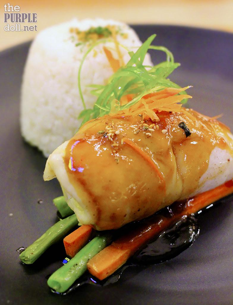 Baked Fish Fillet in Tangerine Teriyaki (P294 95)