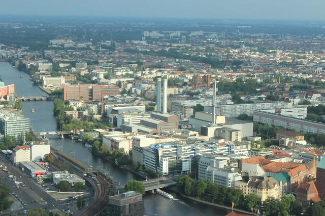 Ausblick vom Berliner Fernsehturm I