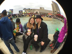 Lundi Gras at the Riverwalk