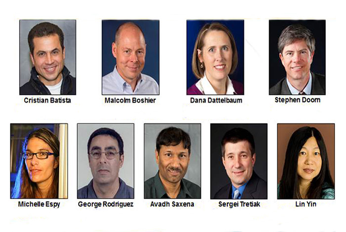 Nine Los Alamos National Laboratory scientists were selected as fellows of the American Physical Society.