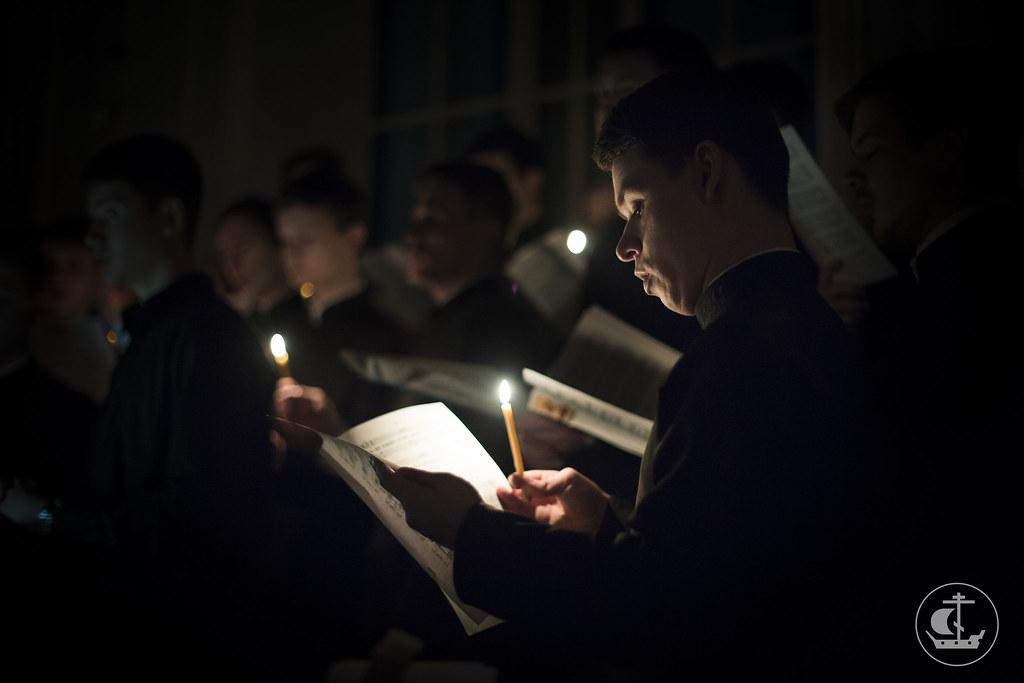 23 февраля 2015, Понедельник Первой седмицы Великого поста. Вечер / 23 February 2015, Monday of the 1st Week of Great Lent. Evening