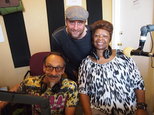 Bob Rodrigue and George Ingmire with Irma Thomas