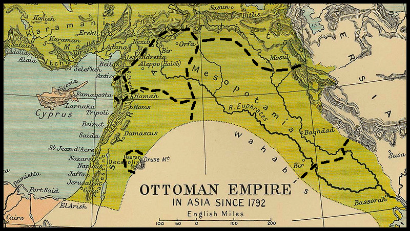 Afternoon Map Make Your Own Middle East The King Crane Pickapath - Make-your-own-us-map