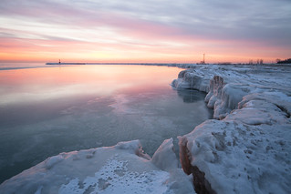 Sunrise at Montrose Beach