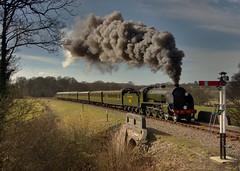 847 Charter 10/3/15 Bluebell Railway